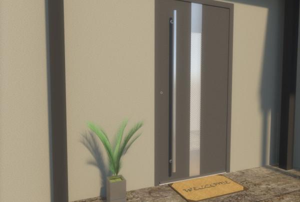 Drzwi subpanelowe